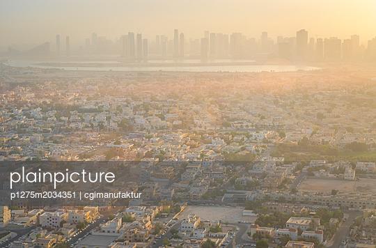 Dubai Skyline - p1275m2034351 von cgimanufaktur