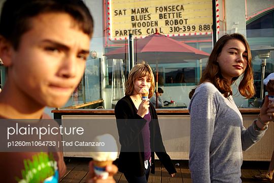 Ice Cream Pier - p1260m1064733 by Ted Catanzaro