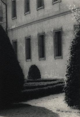 Valdštejnská zahrada, palace, Prague - p1677m2258961 by nina e. reiter