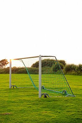 Soccer goal - p312m695727 by Elliot Elliot