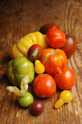 Verschiedene Tomatensorten - p1259m1064615 von J.-P. Westermann