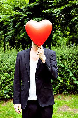 Mann mit Herz - p4320701 von mia takahara