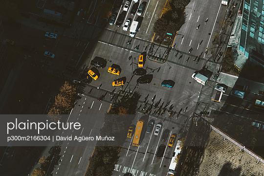 New York city aerial view - p300m2166304 von David Agüero Muñoz