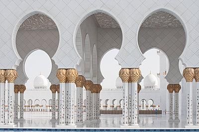 Scheich Zayed Moschee - p1273m1467584 von melanka