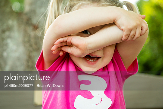 Peekaboo - p1480m2039077 by Brian W. Downs