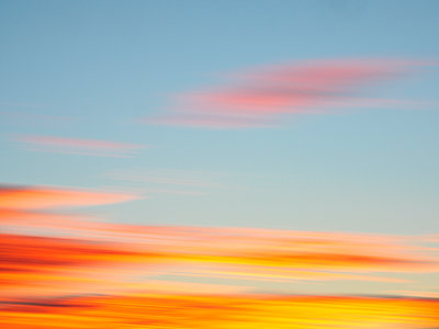 Clouds at sunset - p1427m2000051 by WalkerPod Images