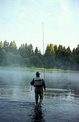 Norwegen, Vestfold, Angler - p2680512 von Oliver Rüther