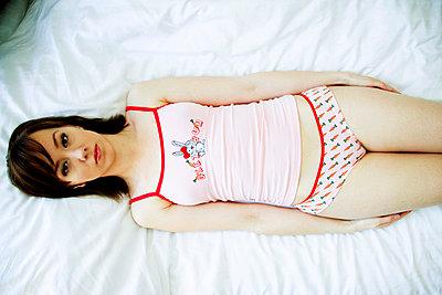 woman sleeping - p4130056 by Tuomas Marttila