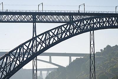Bridge Ponte Maria Pia in Porto - p1041m2090468 by Franckaparis
