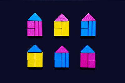 Häuser - p1149m2028492 von Yvonne Röder