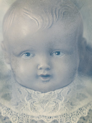 Vintage Doll - p1280m2184511 by Dave Wall