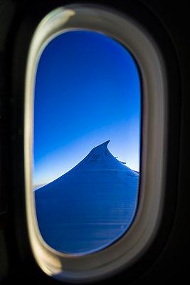 View from airplane window - p1170m2045724 by Bjanka Kadic