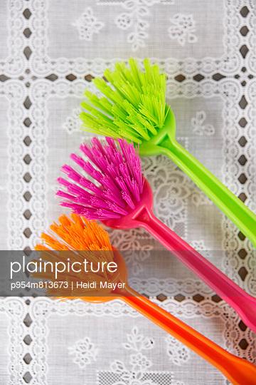 Happy housework - p954m813673 by Heidi Mayer