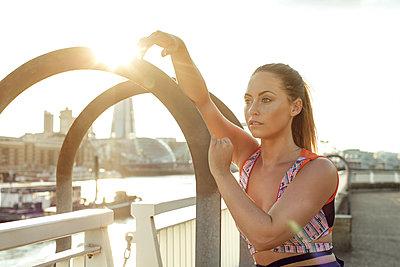 Sportive woman - p1520m2082018 by Michael Leckie