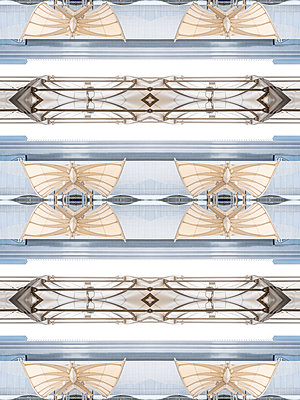 Abstract Kaleidoscope Salzburg Airport - p401m2211962 by Frank Baquet