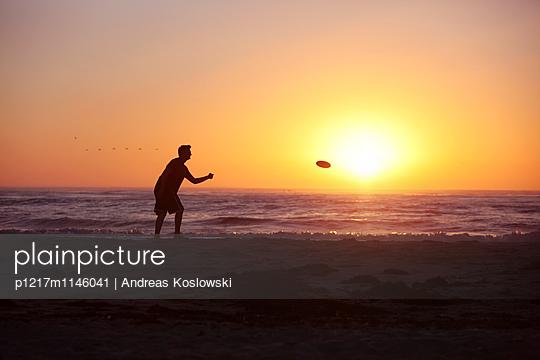 Frisbee - p1217m1146041 von Andreas Koslowski