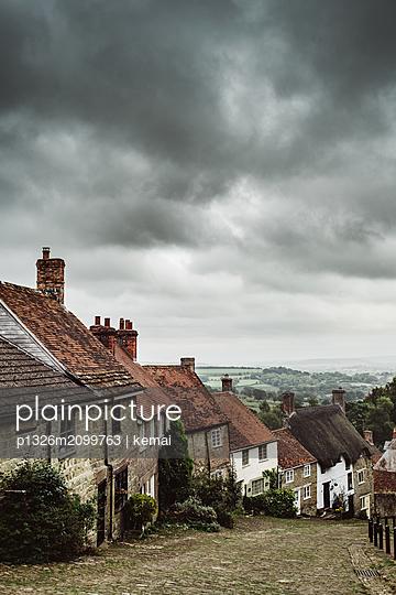 Shaftesbury, Gold Hill - p1326m2099763 von kemai