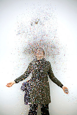 Confetti - p1028m933862 by Jean Marmeisse