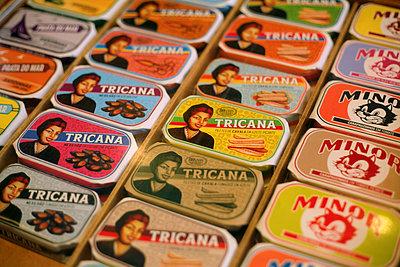 Canned fish, Conserveira de Lisboa, Lisbon - p1028m933881 by Jean Marmeisse
