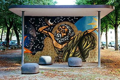 Graffiti - p728m932090 von Peter Nitsch