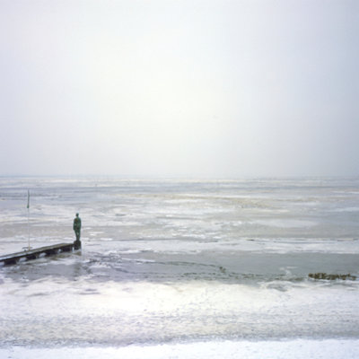 The sea in winter II - p989m887422 by Gine Seitz