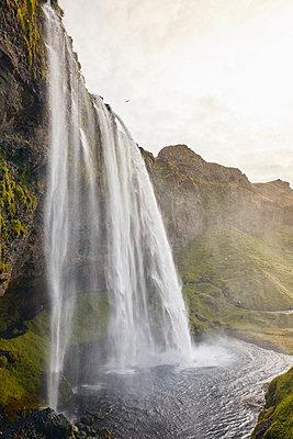 Wasserfall Seljalandsfoss - p1305m1190715 von Hammerbacher
