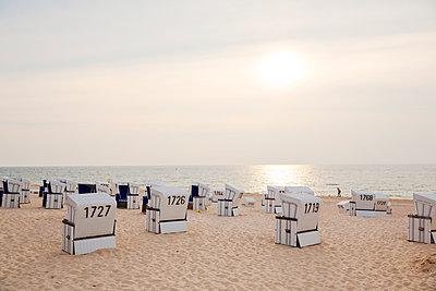 Strand Westerland auf Sylt - p432m1190835 von mia takahara