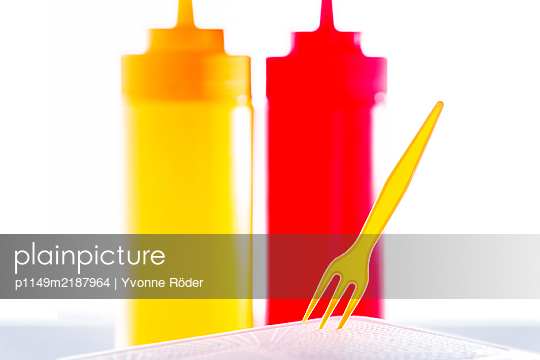 French fries fork - p1149m2187964 by Yvonne Röder