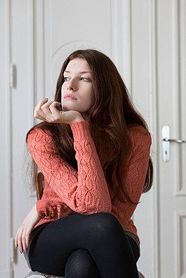 Portrait - p1076m901330 by TOBSN