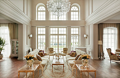Luxury Living - Parlour I - p390m741255 by Frank Herfort