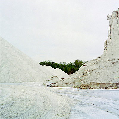 Mountains of salt in Camargue - p7780016 by Denis Dalmasso