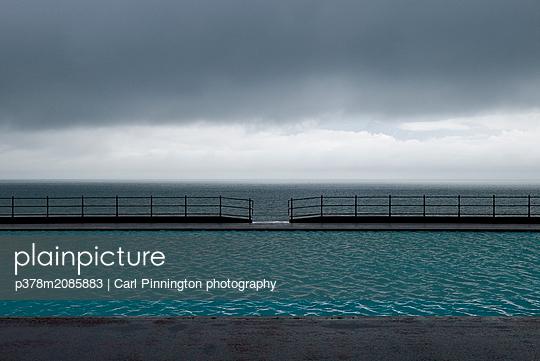 Llandudno Pool - p378m2085883 by Carl Pinnington photography