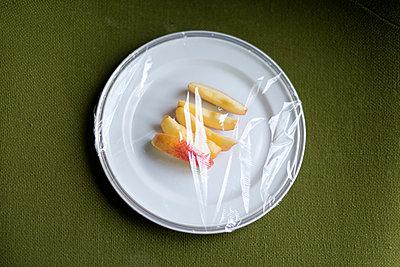 Abgedeckte Apfelstücke - p1116m1217066 von Ilka Kramer
