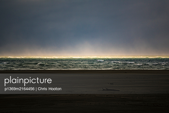 Waves and sunlight - p1369m2164456 by Chris Hooton