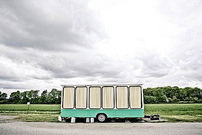 Verkaufswagen - p1221m1150115 von Frank Lothar Lange