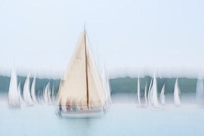 Sailing regatta - p739m1446131 by Baertels