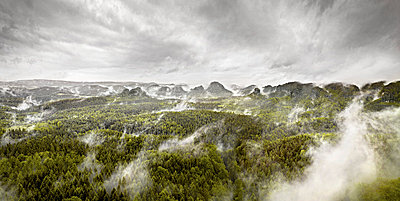 Elbe Sandstone Mountains - p9180048 by Dirk Fellenberg