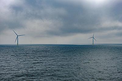 Offshore Windräder in der Ostsee - p1463m2296425 von Wolfgang Simlinger