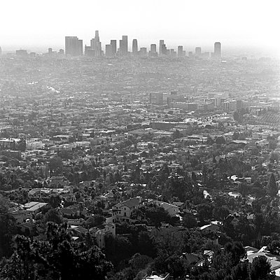Cityscape of Los Angeles, California, USA - p301m799541f by Brian Caissie