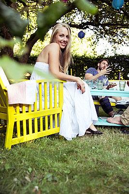 Sommerparty - p788m823788 von Lisa Krechting