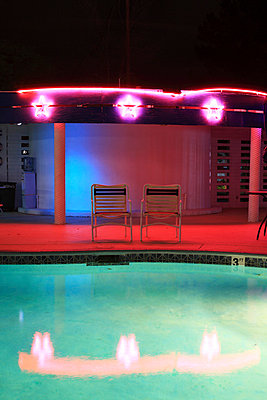 Motel-Pool - p0452741 von Jasmin Sander