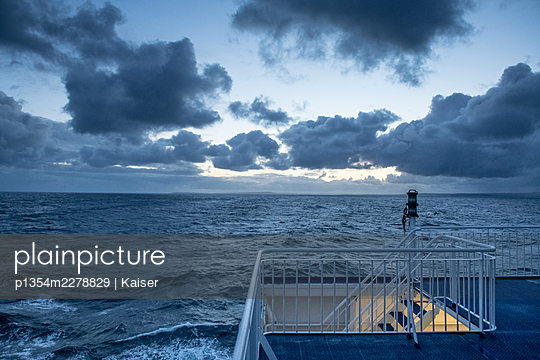 Ferry on the North Atlantic - p1354m2278829 by Kaiser