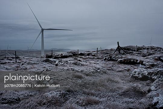 Snowy Turbine - p378m2085776 by Kelvin Hudson