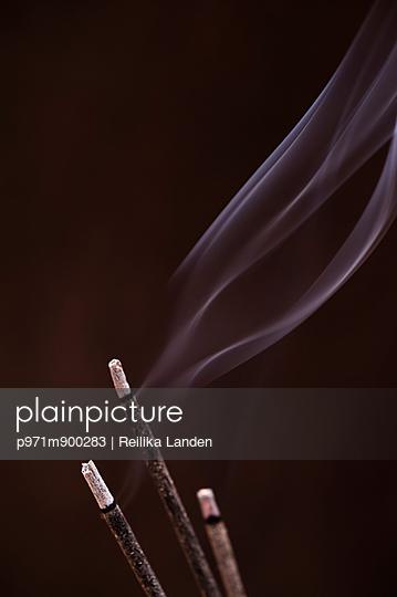 Incense burning - p971m900283 by Reilika Landen