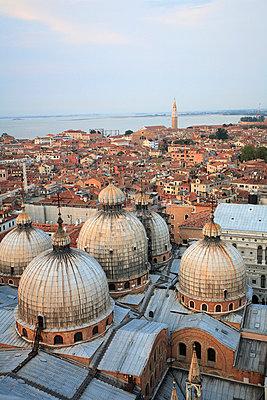 Blick über Venedig - p4450073 von Marie Docher