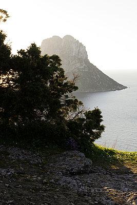 Island of Es Vedra off coast of Ibiza - p583m1083764 by Kristina Williamson