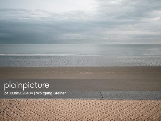 Promenade, Strand und Meer - p1383m2026494 von Wolfgang Steiner