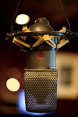 RCA Ribbon Microphone - p1072m827972f by Alicia Light
