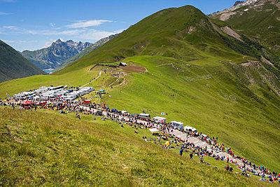 Croix de Fer, Tour de France - p1173m1034389 von Gilles Leimdorfer