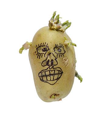 Potato art - p342m970622 by Thorsten Marquardt